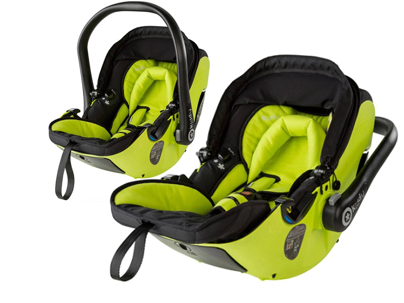 Endlich: beim Kiddy können Babies richtig flachliegen...