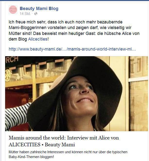 Interview bei Beauty Mami