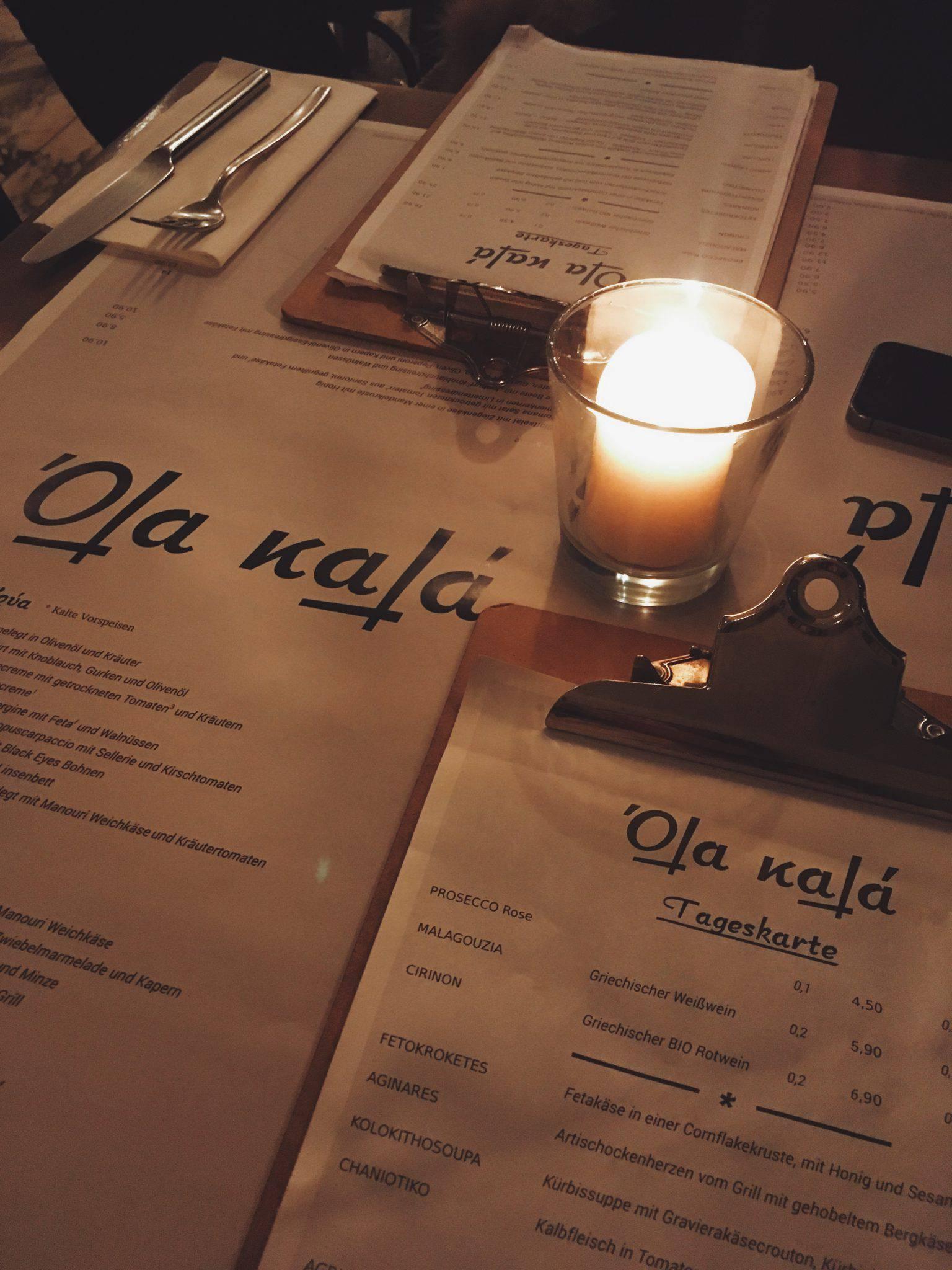 Ola kala - Griechisches Restaurant - Schwabing - Muenchen