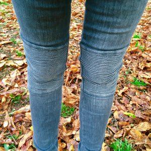 'Biker' Bottom-Up Jeans von liu jo