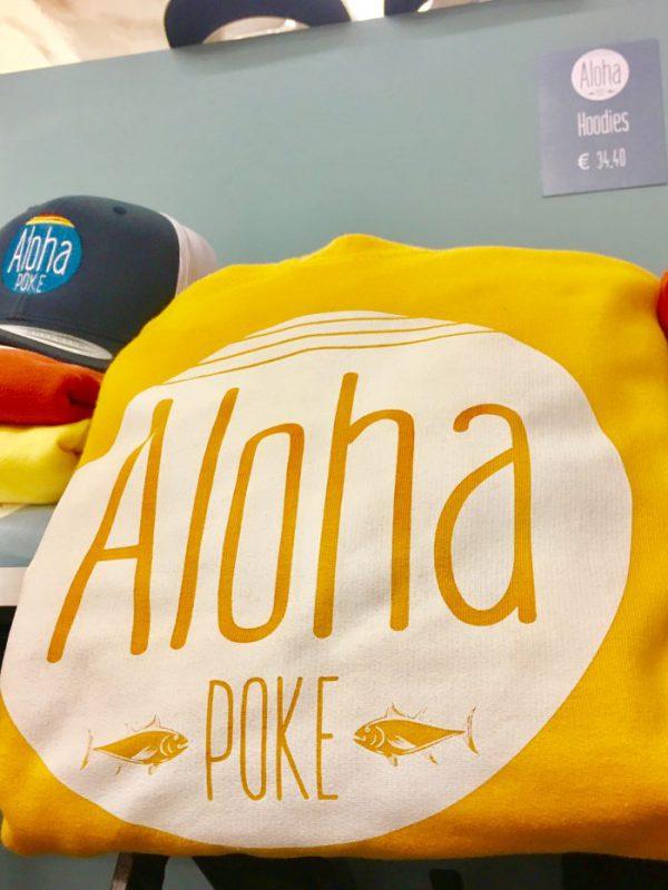 Merchandising, Aloha POKE, hawaiiarisches Restaurant, Muenchen