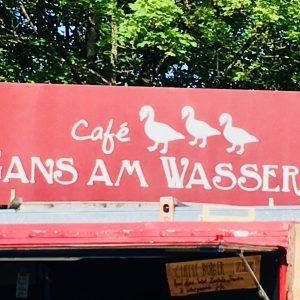 Café Gans am Wasser: Café im Westpark am Mollsee